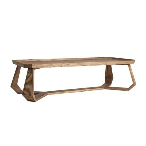 Aide Large  Solid Wood Coffee Table