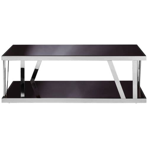 Albern Glass Coffee Table Black Home Furniture