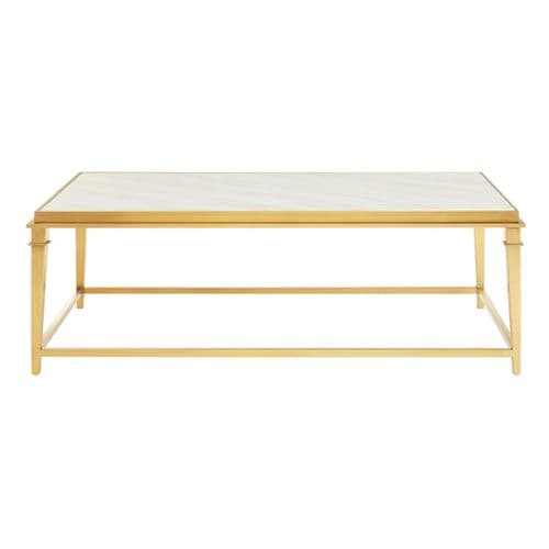 Amaya Rectangular Coffee Table White Home Furniture