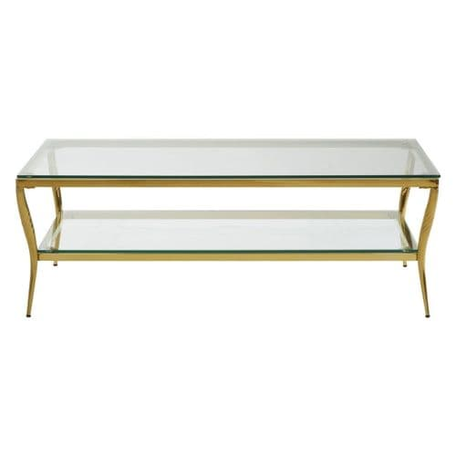 Amelia Coffee Table Gold Home Furniture