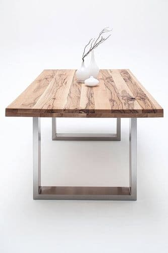 Autumn 180cm Oak Dining Table With Wide Top