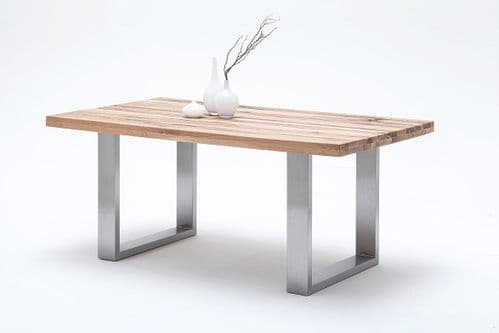 Autumn 220cm Oak Dining Table With Wide Top