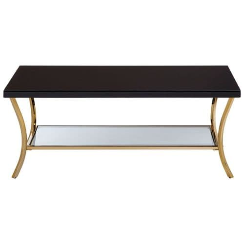 Barnardo Rectangular Coffee Table Black Home Furniture