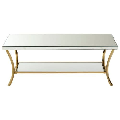 Barnardo Rectangular Coffee Table Silver Home Furniture