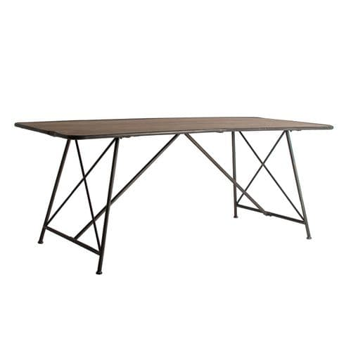 Blesh 200cm Industrial Inspired Dining Table