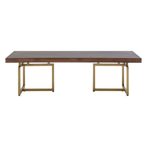 Byron Rectangular Coffee Table Brown Home Furniture