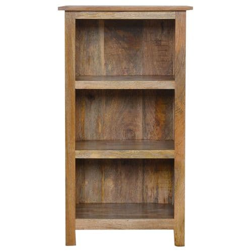 Carlos Mini Bookcase Natural Oak Home Furniture