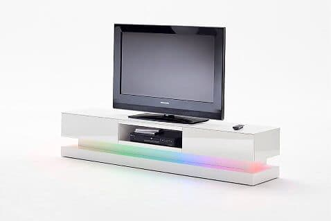 Caver 180cm White Gloss TV Stand