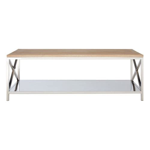 Clifford Coffee Table Oak Wood Bedroom Furniture