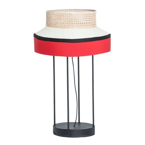 Cole Rattan Top Table Lamp