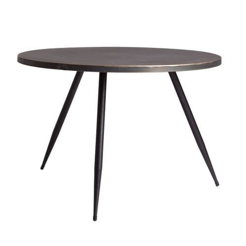 David 70cm  Round Indsutrial Side Table