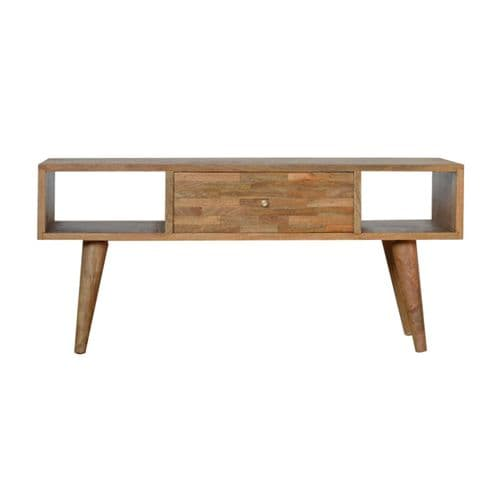 Decante Coffee Table Oak Finish Home Furniture