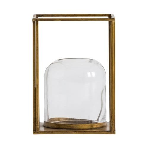 Distressed Old Gold Lantern For Sale - ChicParadisLux