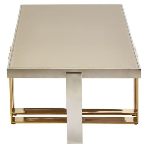 Dylan Coffee Table Silver Home Furniture