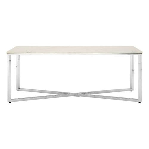 Edmond Coffee Table Chrome Home Furniture