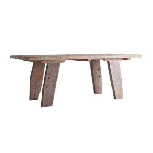 Erin 200cm  Large Rectangular Wooden Rustic Dining Table