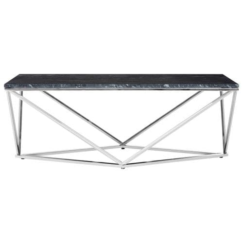 Farrel Coffee Table Chrome Home Furniture