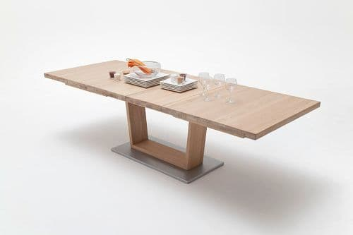 Mitch 140cm Extending Wooden Dining Table