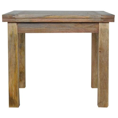 Quinora Extendable Dining Table Oak Finish Home Furniture