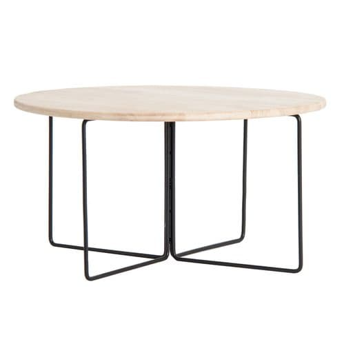 Sydney 60 cm Industrial Style Round Side Table