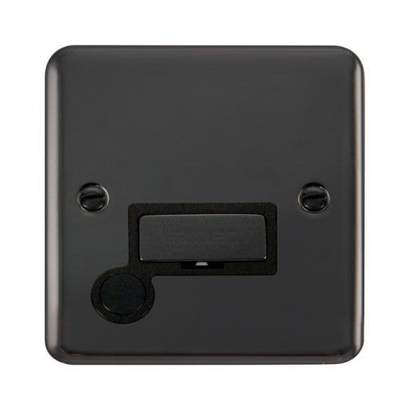Click Deco Plus Black Nickel DPBN550BK13A Ingot Fused Connection Unit W/ Flex Outlet - Blacks