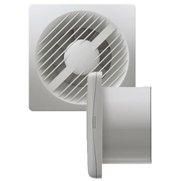 """Greenwood AXS100SVIHT 4"""" Low Voltage Extractor Fan with Humidistat/Timer and Pull Cord 12V"""