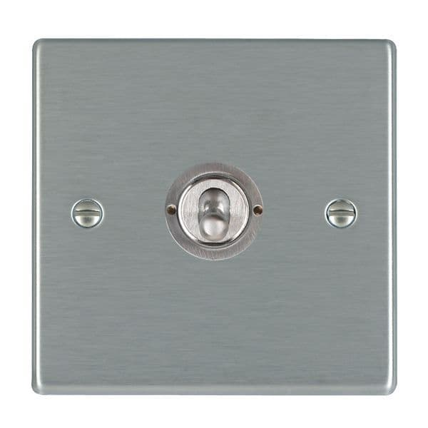 Hartland 74T21 Stainless Steel Toggle Switch 1G