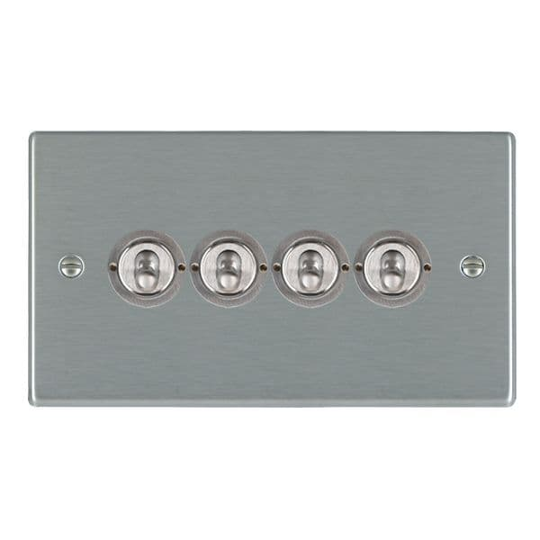 Hartland 74T24 Stainless Steel Toggle Switch 4G