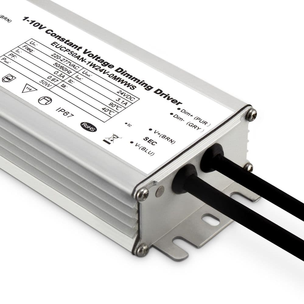 JCC BC020003 24V 50W 1-10V Dimmable IP67 Driver