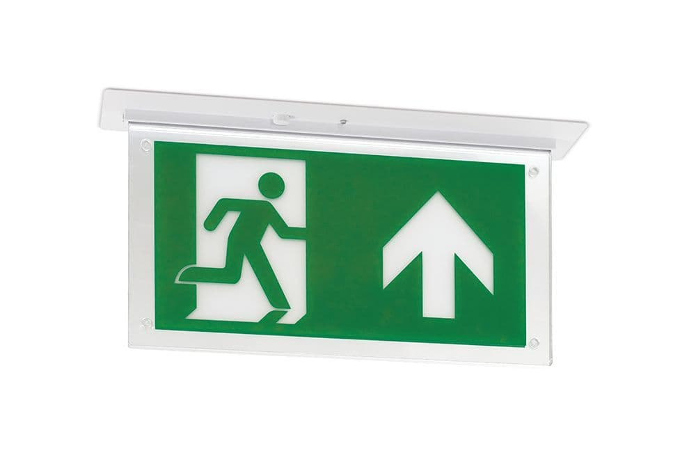 JCC JC50326 Recessed Exit Blade Maintained 3M IP20 without legend