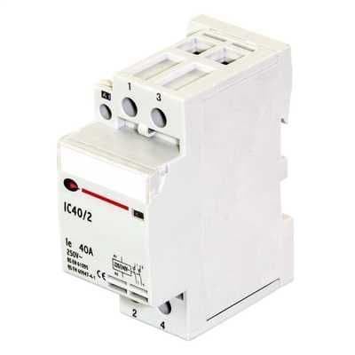 Lewden IC40/2 40A 2-POLE Contractor N/O