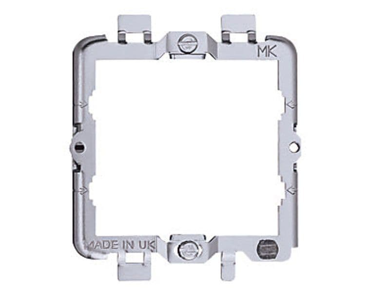 MK Electric K3702 Metalclad Plus 2 Module Grid Mounting Frame