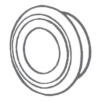 "Manrose 1250 Circular Air Diffuser 100mm (4"")"
