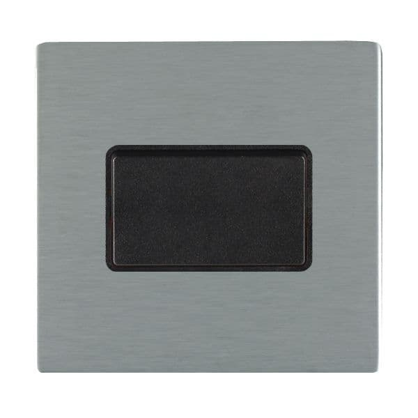 Sheer CFX 84CTPBL-B and 84CTPWH-W Satin Steel Fan Isolating Switch