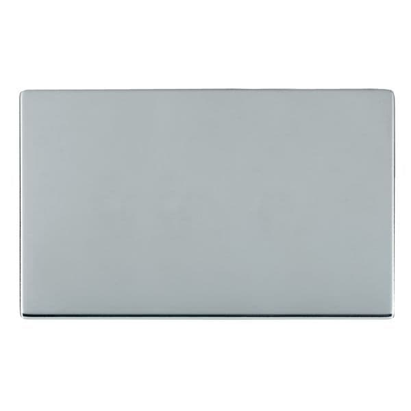 Sheer CFX 87CBPD Bright Chrome Double Blank Plate