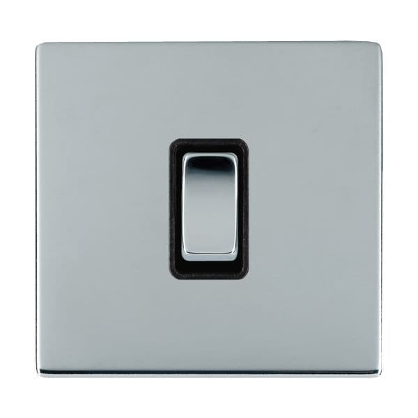 Sheer CFX 87CR21BC-B and 87CR21BC-W Bright Chrome 10a Light Switch 1G 2W