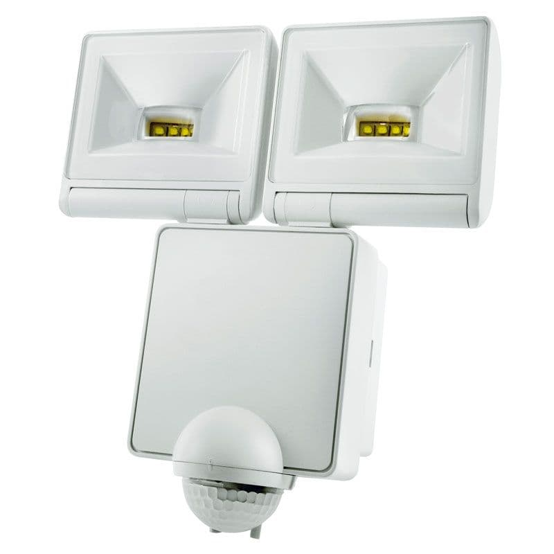 Timeguard LED200PIRWHE 2x 8W LED Energy Saver PIR Floodlight - White