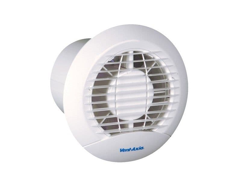 "Vent-Axia 427283 ECLIPSE 150X 6"" Extractor Fan with Back-Draught Shutter"