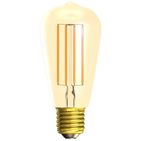 Bell Lighting 01469 4W LED Vintage Squirrel Cage Dimmable - ES/E27, Amber, 2000K