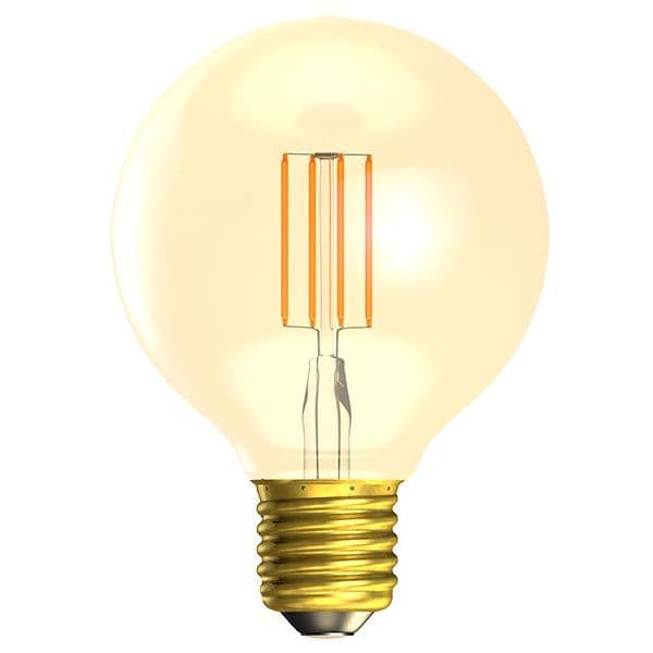 Bell Lighting 01474 4W LED Vintage Globe Dimmable - ES/E27, Amber, 2000K