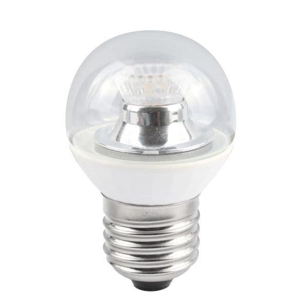 Bell Lighting 05148 4W LED 45mm Dimmable Round Ball Clear - ES, 4000K