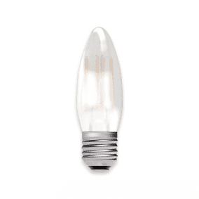 Bell Lighting 05314 4W LED Filament Satin Candle Dimmable - ES, 2700K