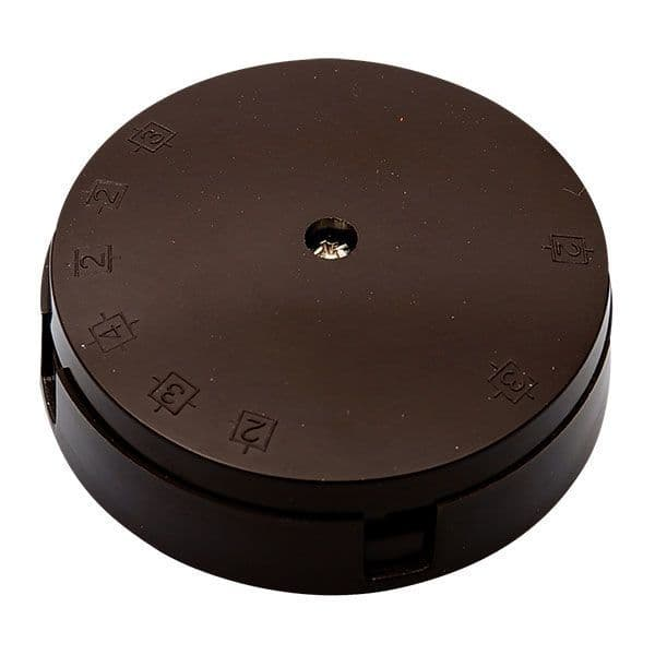 BG Electrical 604 20A 80mm 4 Way Junction Box with Selective Entry