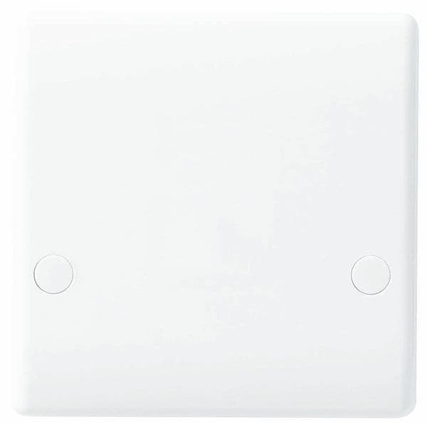 BG Electrical 879 45A Cooker Outlet Plate White (Bottom Entry)