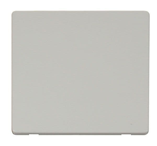 Click Definity SCP060PW 1 Gang Blank Plate Cover Plate - White