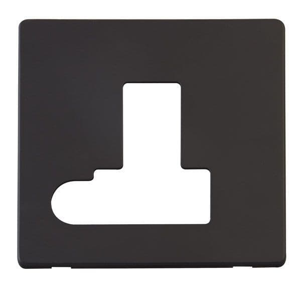 Click Definity SCP151BK Switched Connection Unit With Flex Outlet Cover Plate - Black