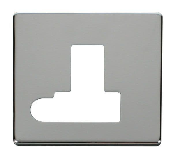 Click Definity SCP151CH Switched Connection Unit With Flex Outlet Cover Plate - Chrome