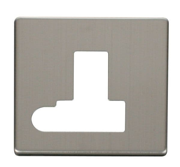 Click Definity SCP151SS Switched Connection Unit With Flex Outlet Cover Plate - Stainless Steel