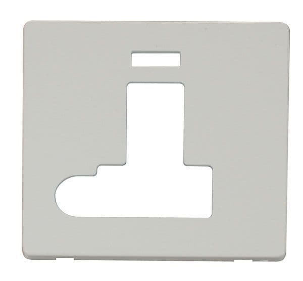 Click Definity SCP152PW Switched Conn. Unit With Flex Outlet & Neon Cover Plate - White