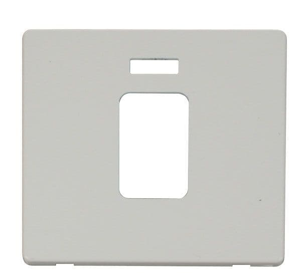 Click Definity SCP201PW 45A 1 Gang Plate Switch With Neon Cover Plate - White